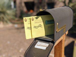 Ballots in Mailbox